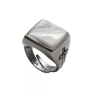 Square Gem Ring