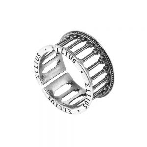 Roman Temple Man Ring