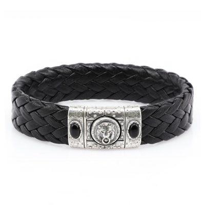 Porta Romana Leather Bracelet