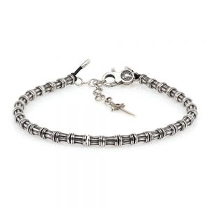 Column Carabiner Bracelet