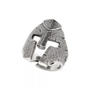 Fighter Helmet Ring
