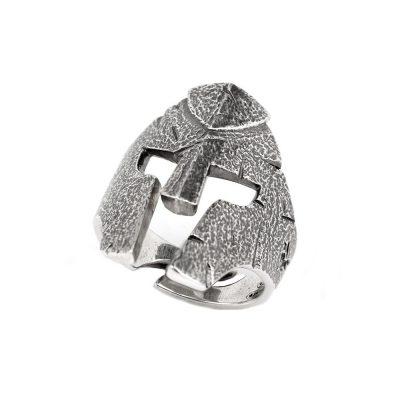 Fighter Helmet Ring