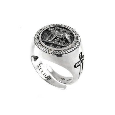 Lupa Capitolina Round Ring