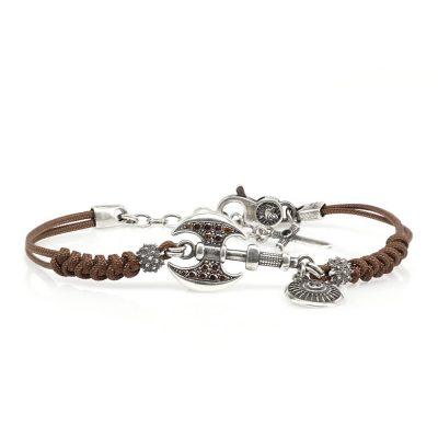 Roman Ax Bracelet Brown