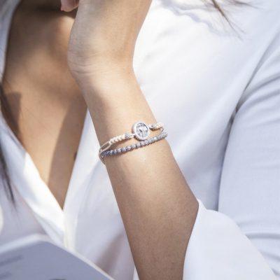 Photo Worn Bracelet Star of the Morning T-Bar