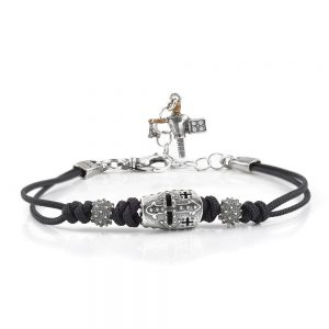 Knight Helmet Smooth Bracelet