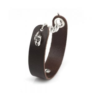 Fighter Bracelet in the Leather Arena