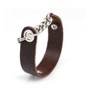 Helmet Knight Leather Bracelet