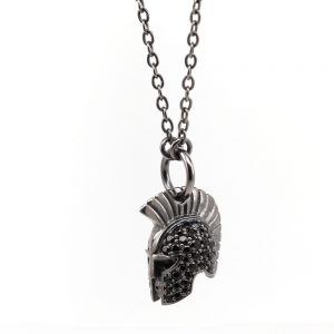 Gladiator Helmet Necklace