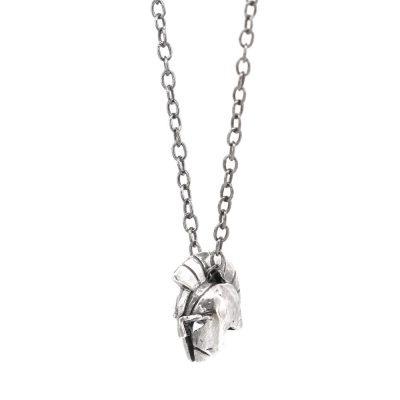 Roman Warrior Necklace Detail