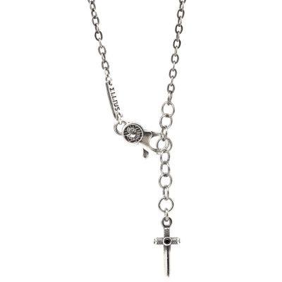 Roman Warrior Necklace Back