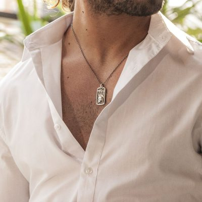 Photo Worn Roman Gladiator Necklace