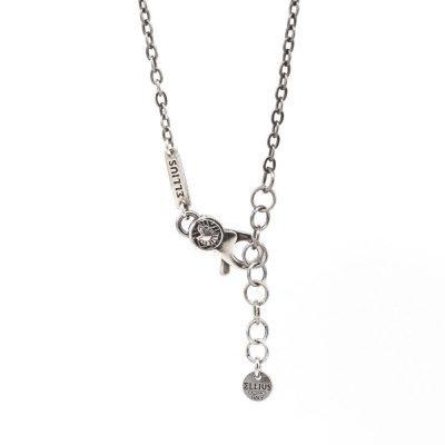 Gladiator Armor Necklace Black
