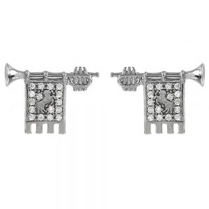 Clarions of Musicians Lobe Earrings