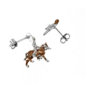 Moor and Knight Earrings