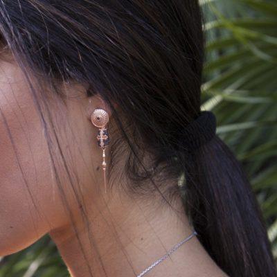Photo Worn Knight Earrings