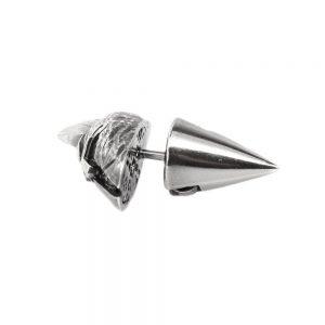 Helmet Gladiator Cone Earring