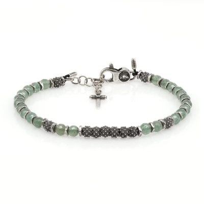 Venus Bracelet Green Aventurine Stones