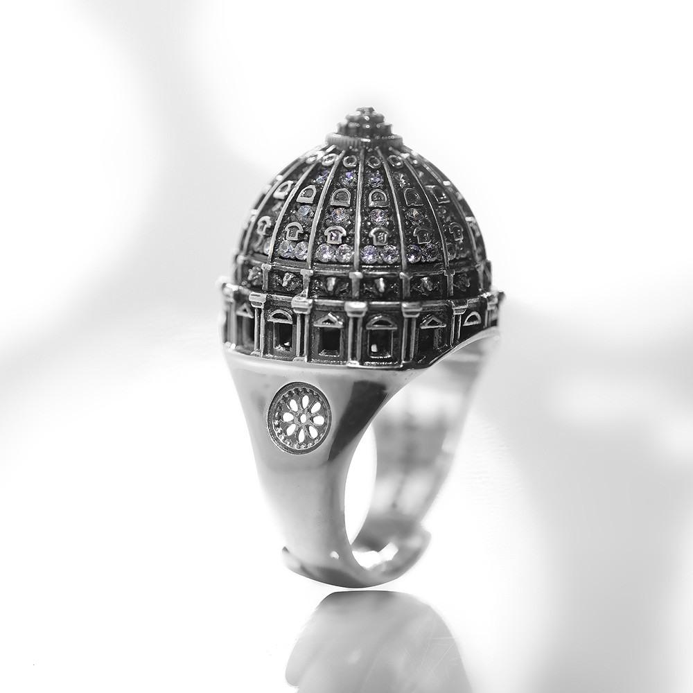 anello cupola san pietro roma