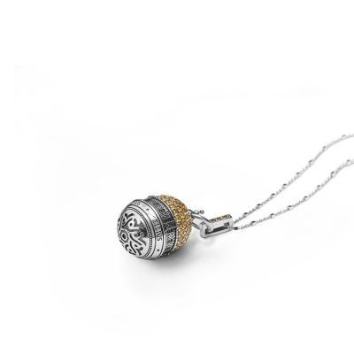 Dome of the Rock in Jerusalem Rose Window Necklace