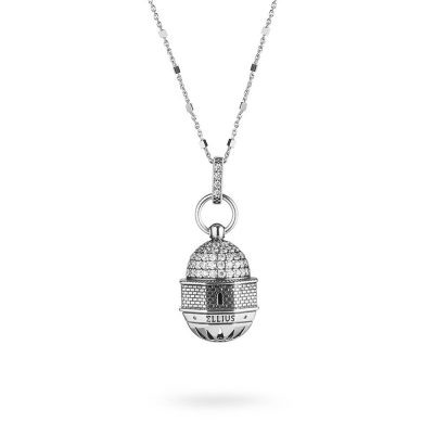 Dome Church of the Ascension in Jerusalem Necklace