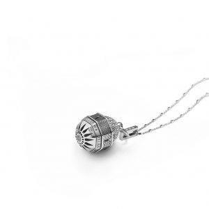 Dome of the Ascension in Jerusalem Necklace