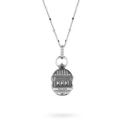 Dome of Tempio Maggiore in Rome Necklace