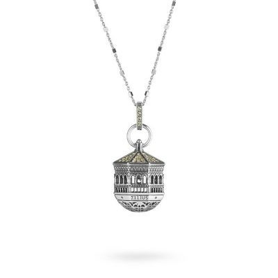 Dome of St.Ambrogio in Milano Necklace