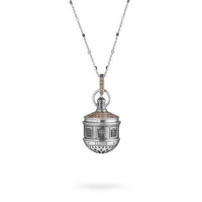 Dome of St.Maria of Suffragio in Aquila Necklace