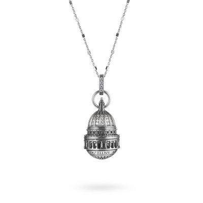 Dome of St.Paul in London Necklace