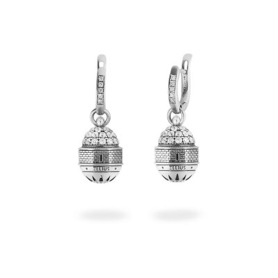 Dome of the Ascension in Jerusalem Earrings