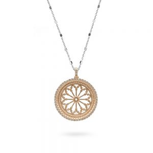 Necklace Rose Window S. Donato | Pinerolo