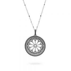 Rose Window Necklace Saints Peter and Donato | Arezzo