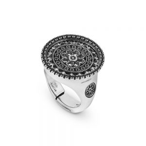 St. Pietro Viterbo Rose Window Ring