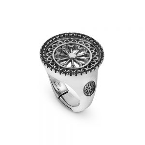 St. Marco Venezia Rose Window Ring