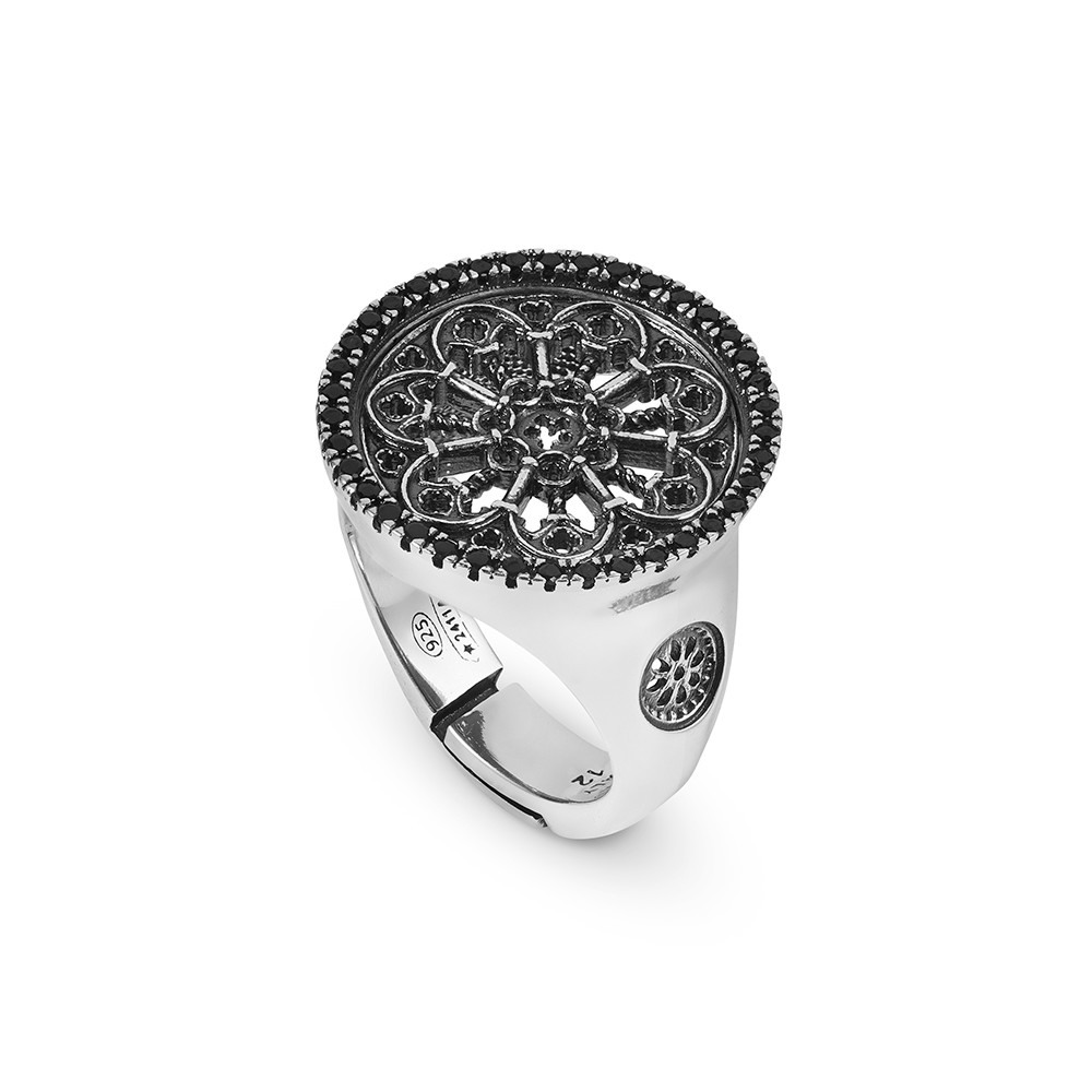We Can Srl Firenze.St Maria Del Fiore Firenze Rose Window Ring