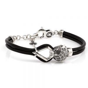 Faceted Panther Bracelet