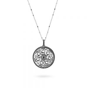 Mosque of Mecca Rose Window Necklace