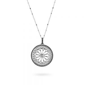 St. Marco Venezia Rose Window Necklace