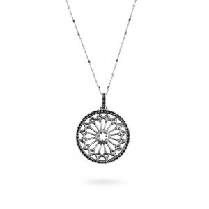 St. Pietro Apostolo Cerignola Rose Window Necklace