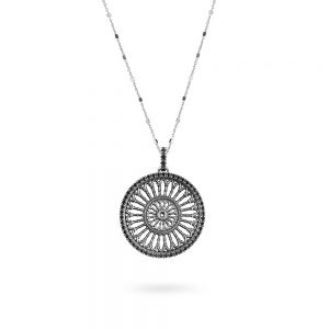 St. Maria Assunta Como Rose Window Necklace