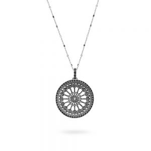 St. Maria Assunta Orvieto Rose Window Necklace