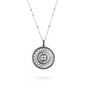 St. Maria Assunta Pisa Rose Window Necklace