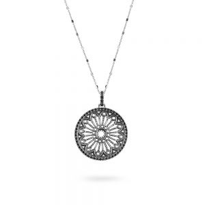 Cathedral Rose Window Necklace | Florence
