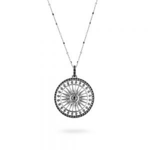 St. Paul London Rose Window Necklace