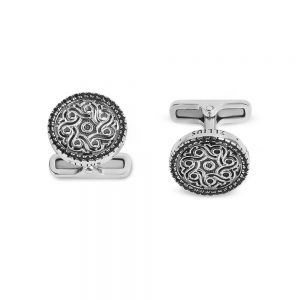 Mosque of Mecca Rose Window Cufflinks