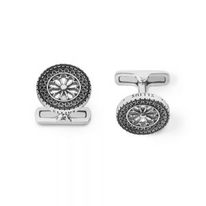 St. Marco Venezia Rose Window Cufflinks