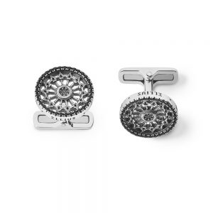 St. Pietro Apostolo Cerignola Rose Window Cufflinks
