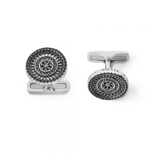 St. Rufino Assisi Rose Window Cufflinks