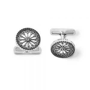 St. Vigilio Trento Rose Window Cufflinks
